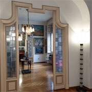The Boschi Di Stefano Museum-Home allows its visitors to feel part of a house that is a symbol of the 1900s in Milan