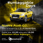 Audi Q2 Untaggable Days