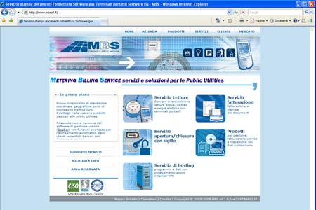 Sito web mbs